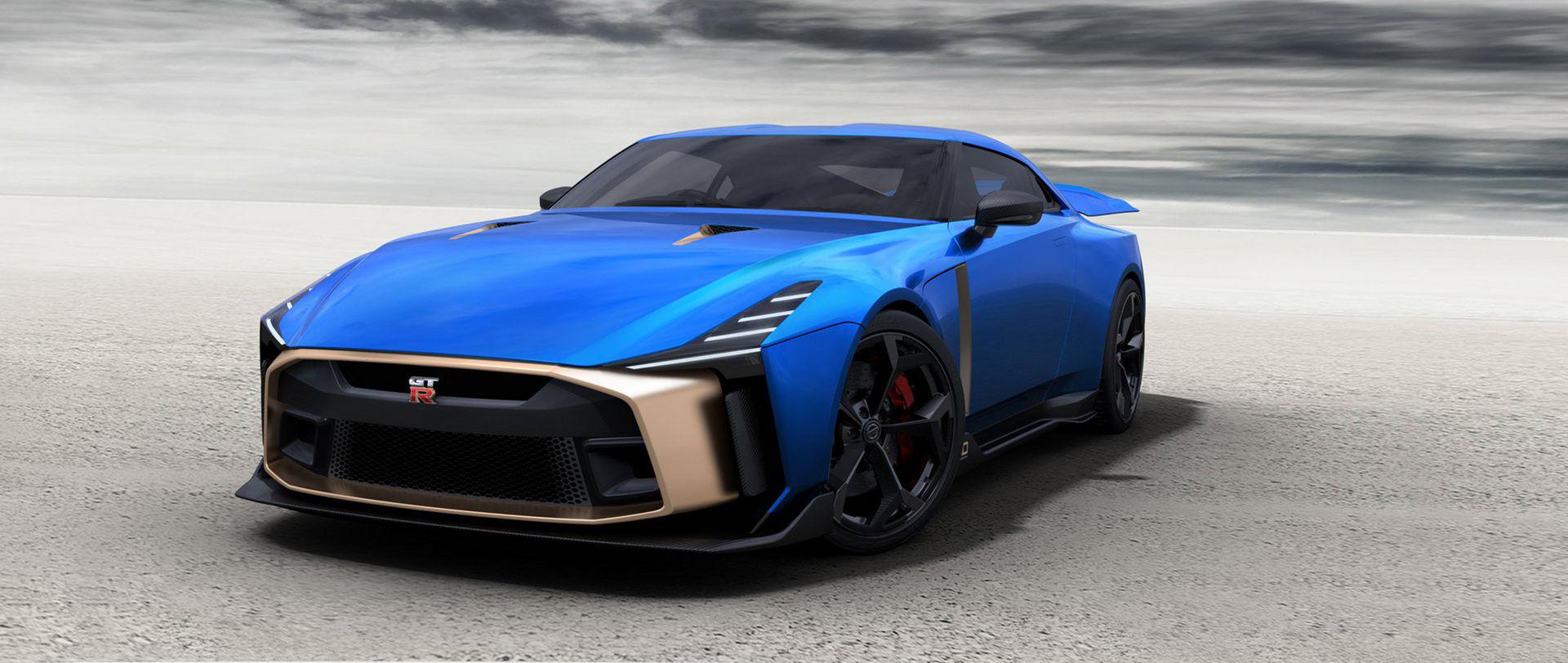 Italdesigns Nissan GT-R50 blir av