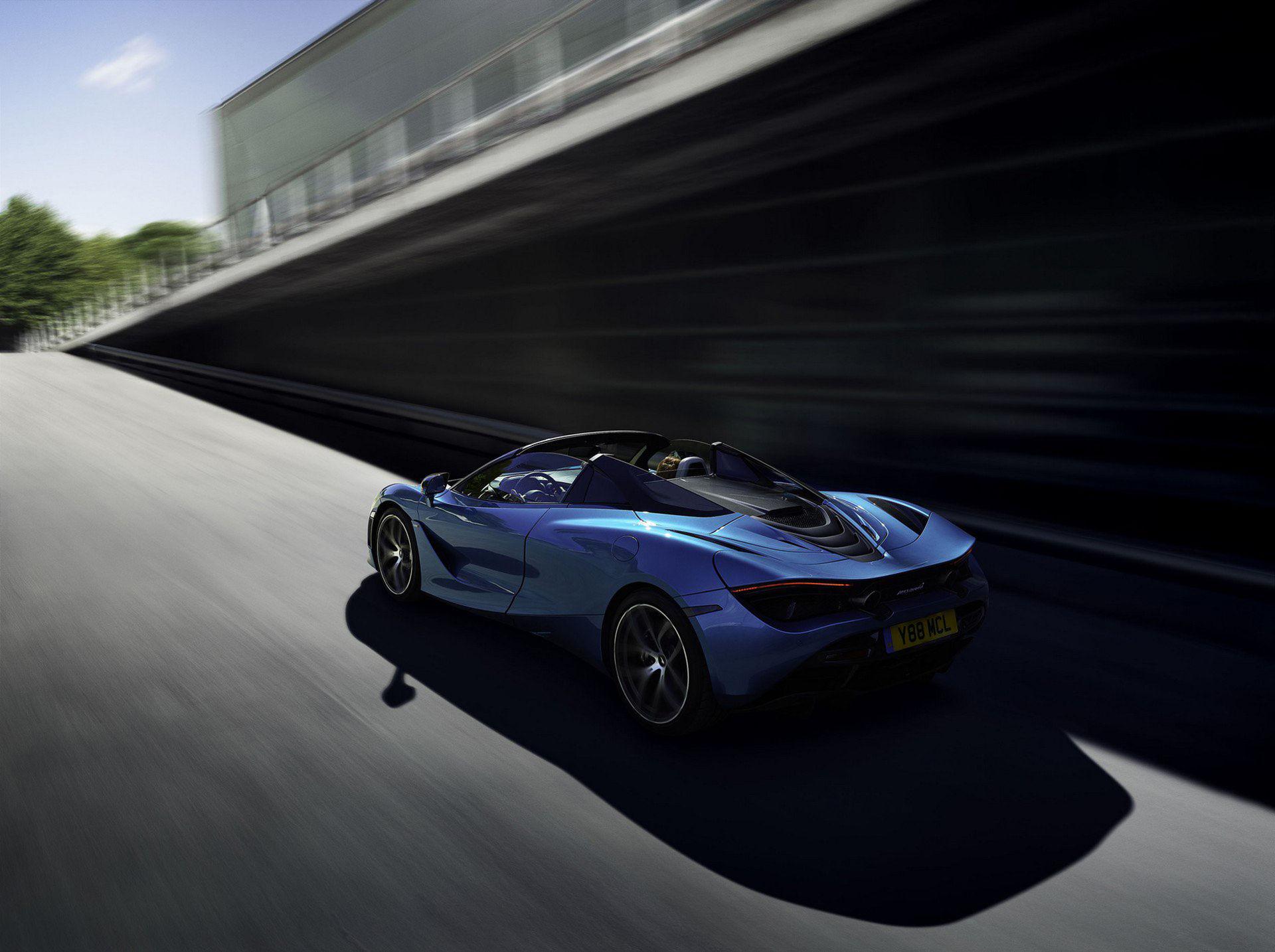 McLaren 720S Spider är här