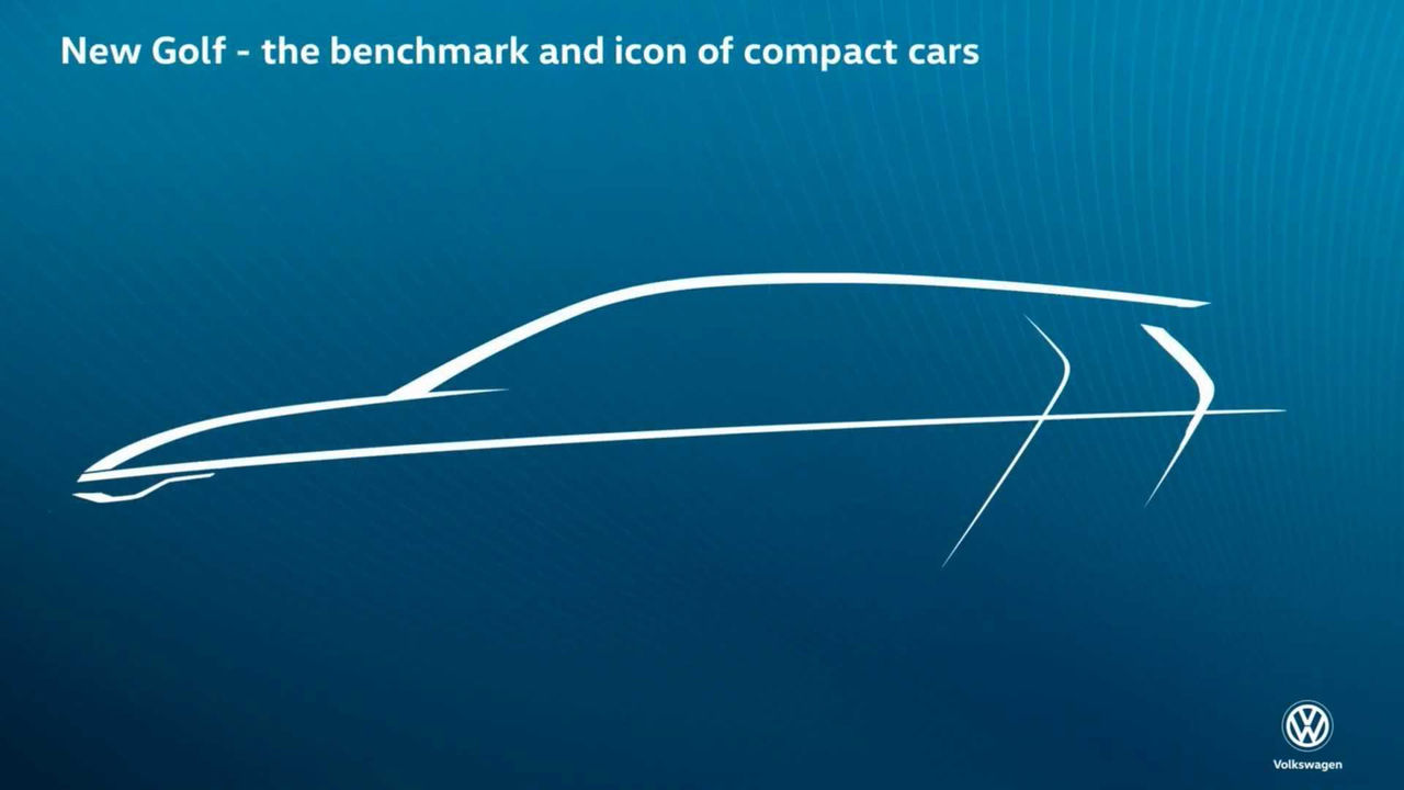 Teaserbild på nästa Volkswagen Golf