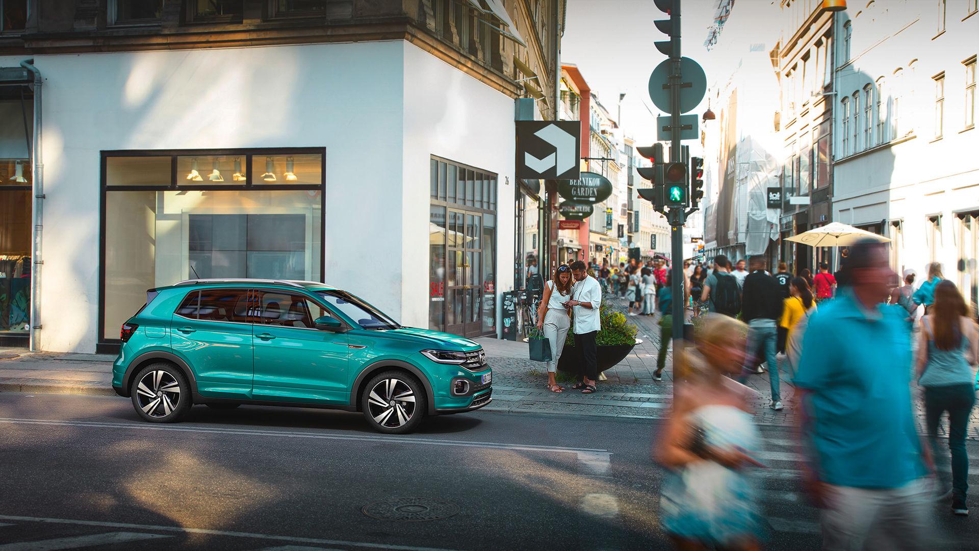 Volkswagen T-Cross blir din för 199.000 kronor