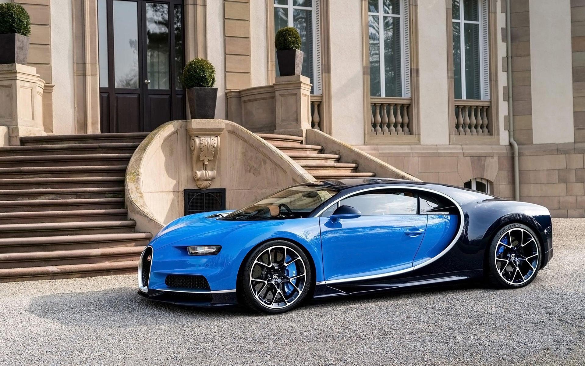 Bugattis mål är inte att bygga den snabbaste bilen