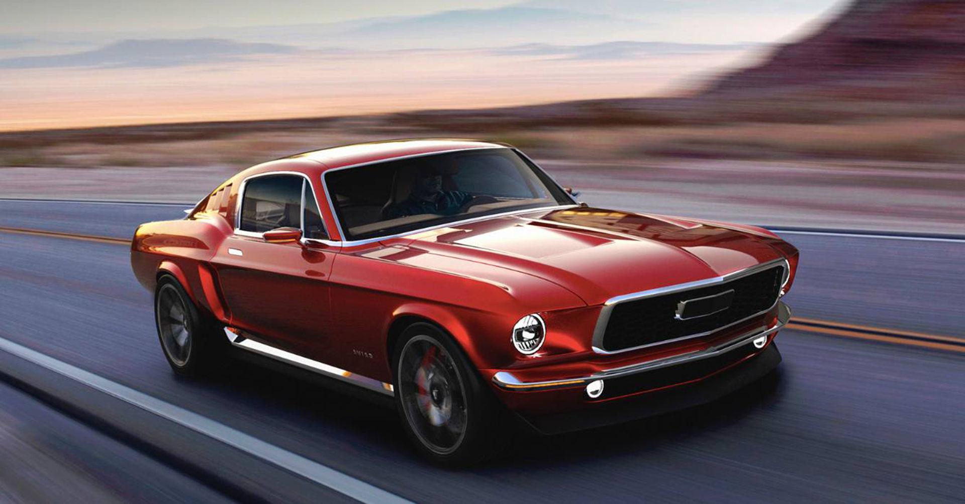 Rysk startup vill bygga eldriven klassisk Mustang