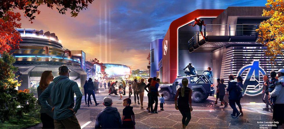 Disneyland Paris får Marvel-del