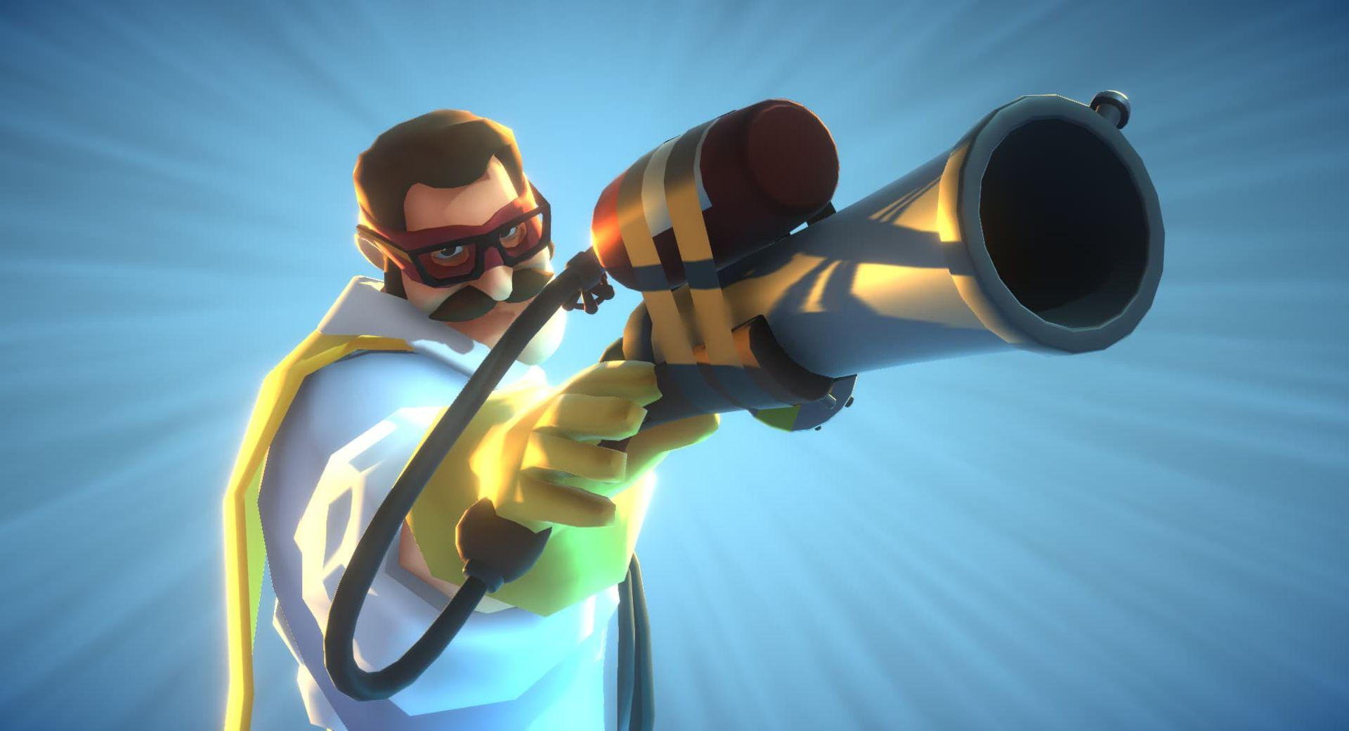 Svenska Hatrabbit släpper VR-spelet Slightly Heroes