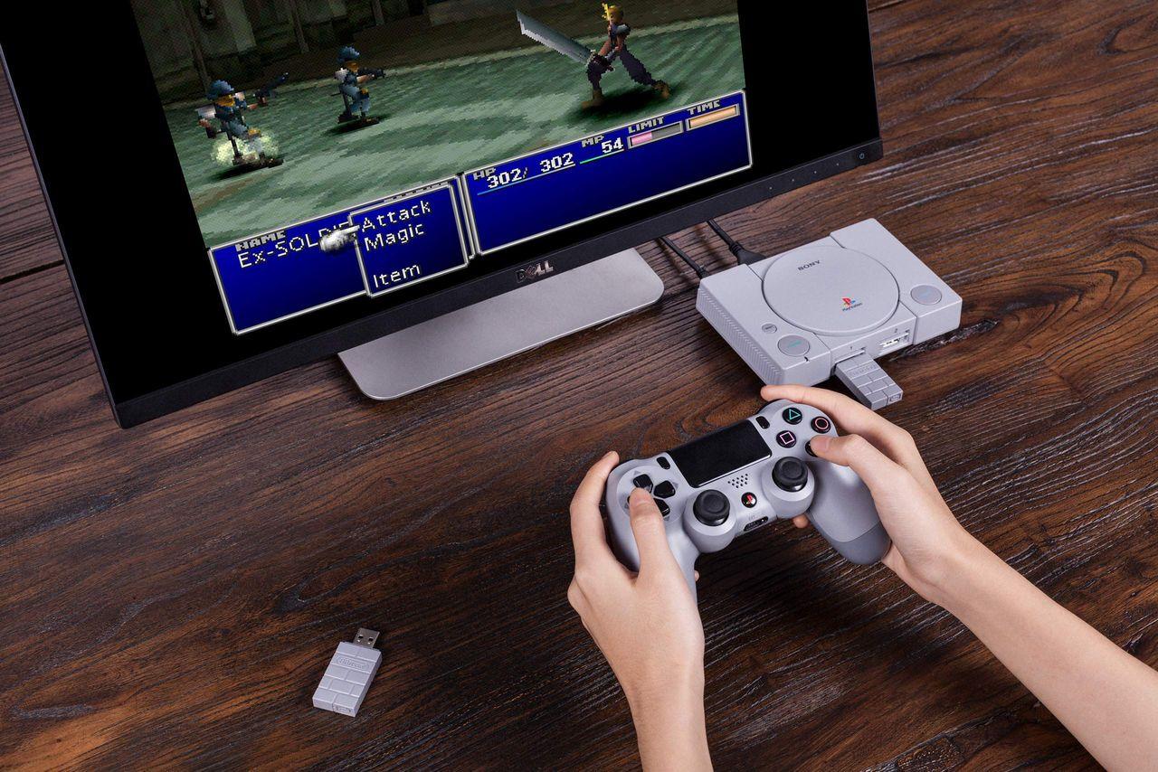 Fixa trådlösa handkontroller till PlayStation Classic