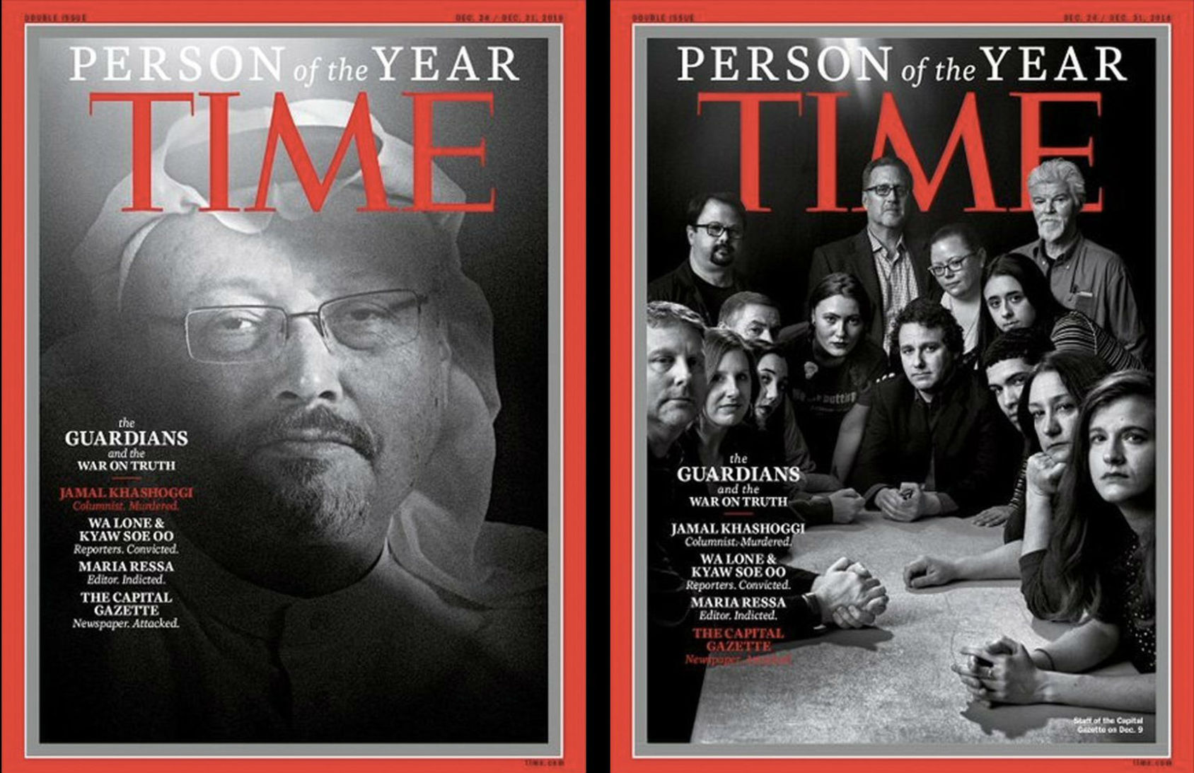 Årets person är utsatta journalister