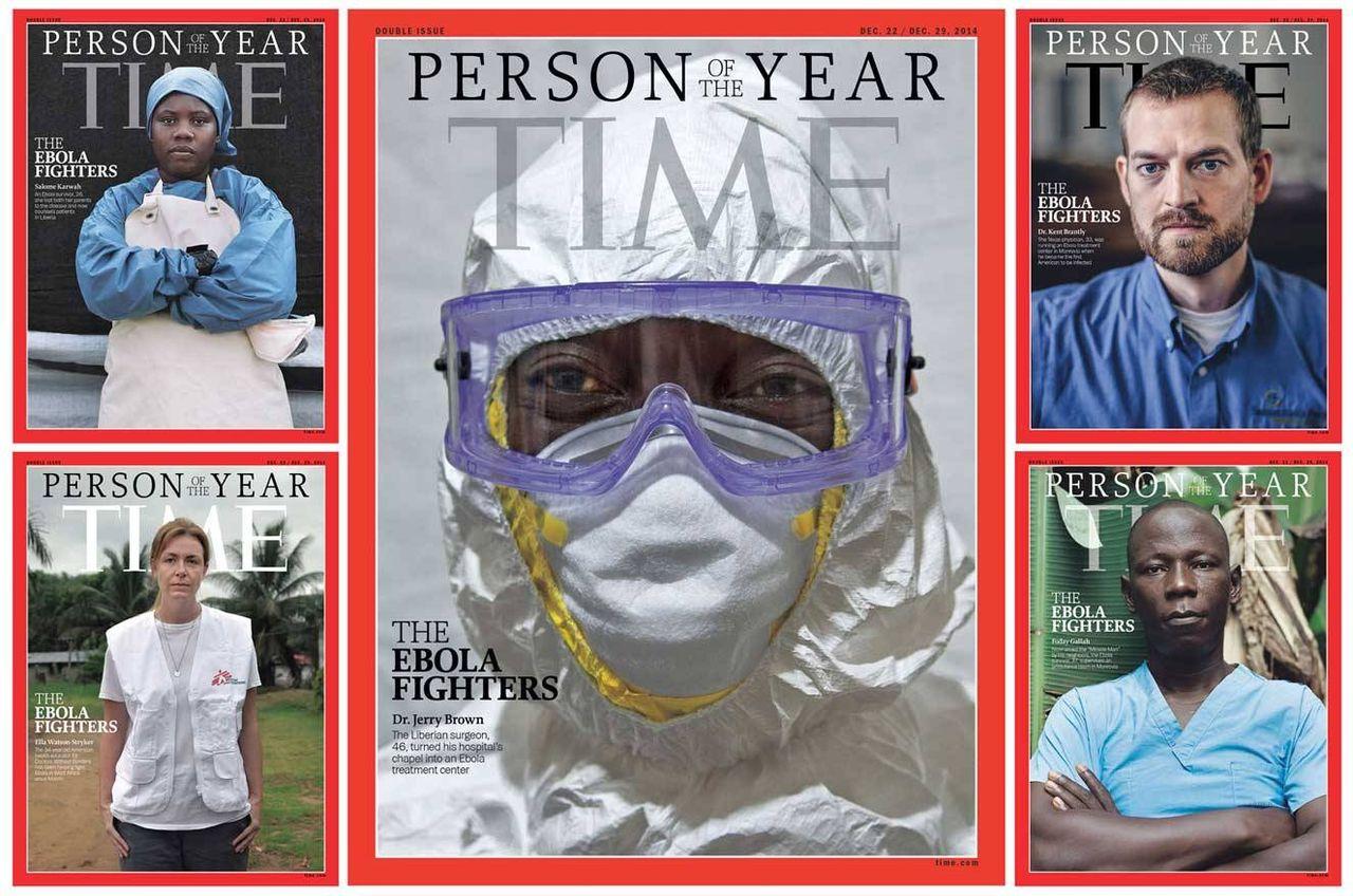 Ebolahjälparbetare årets person enligt TIME Magazine