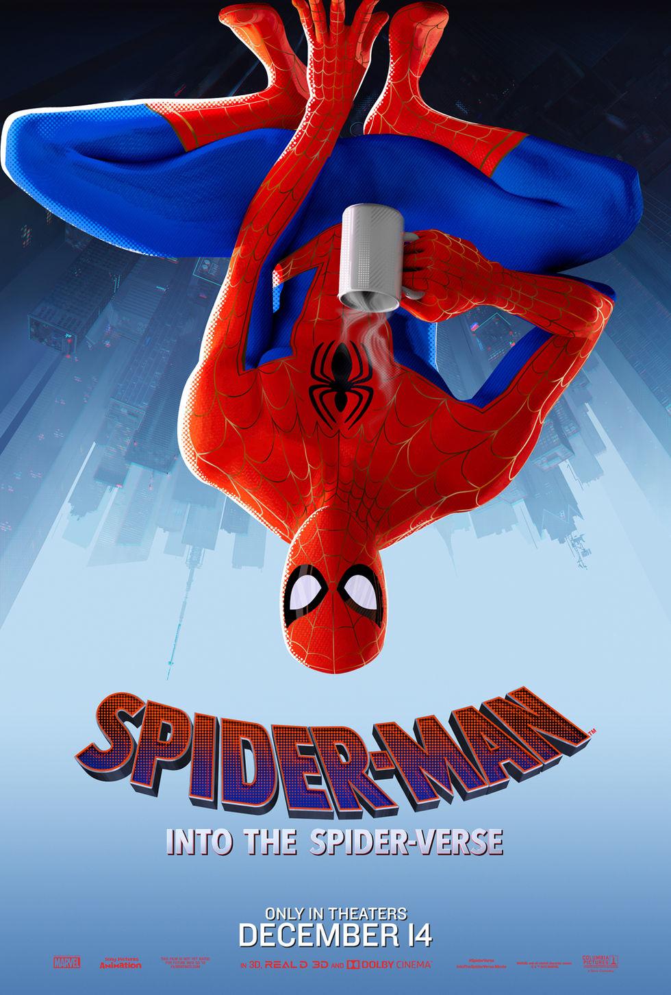 Sänkt åldersgräns på Spider-Man: Into the Spider-Verse