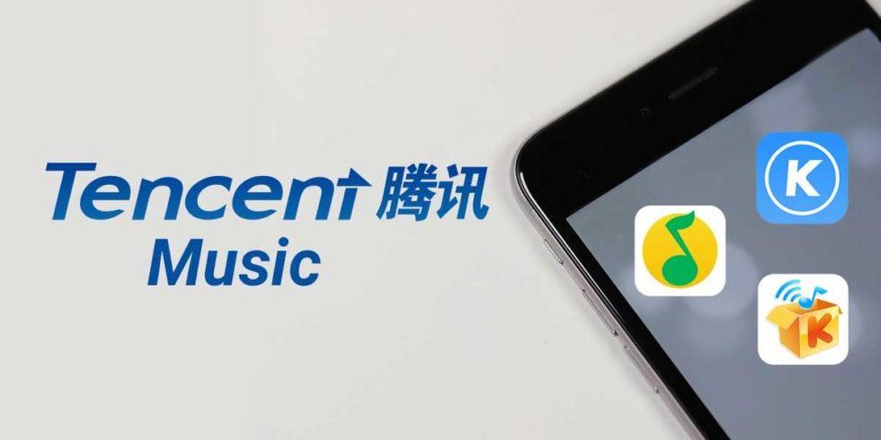 Tencent Music börsnoteras i USA