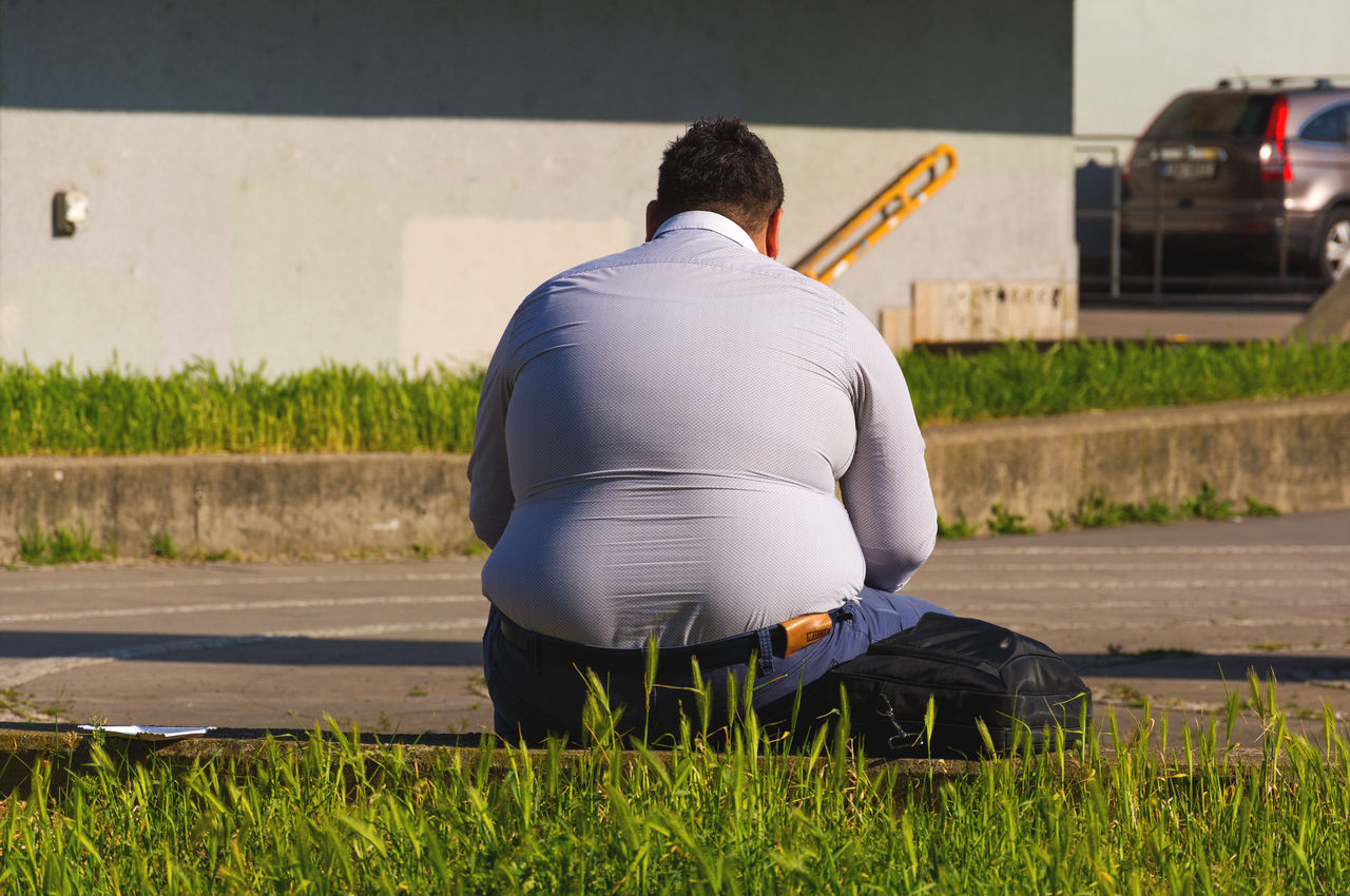 Vi blir allt fetare