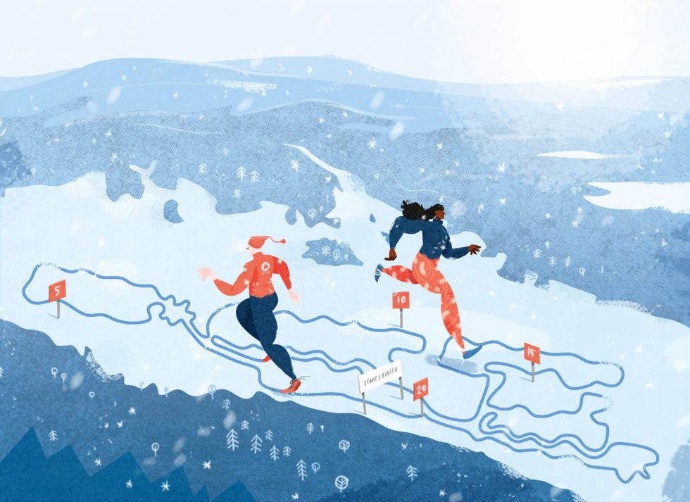 Nästa år kan du springa ett maraton på is