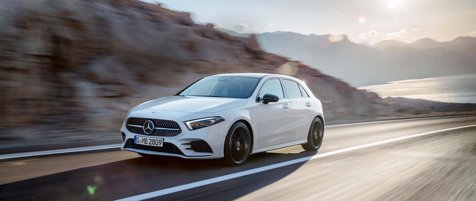 Mercedes A-Klass fick bäst betyg av Euro-NCAP i år