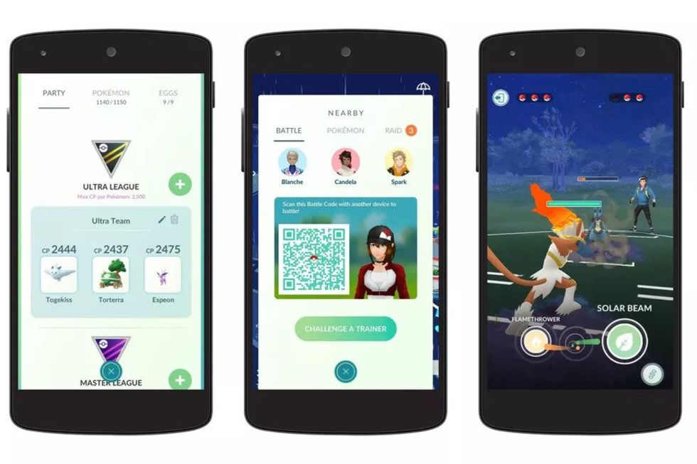 PVP-läge i Pokémon Go börjar rulla ut