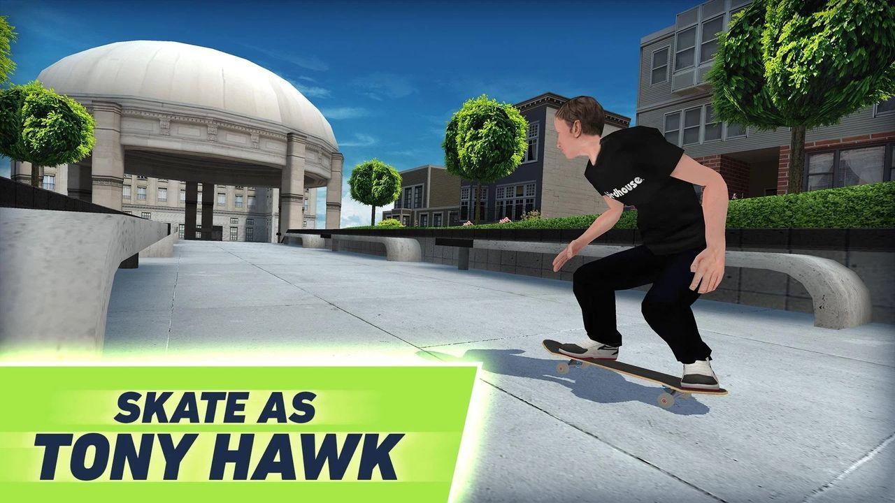 Tony Hawk's Skate Jam ute nu till Android och iOS