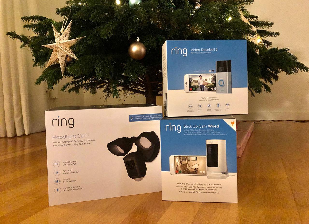 Vi ska testa lite Ring-produkter