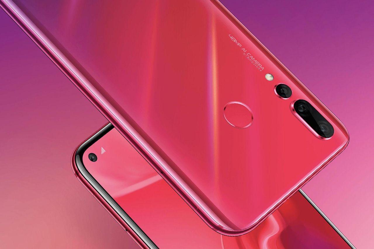 Huawei släpper Nova 4 med kamerahål och 48 megapixlar