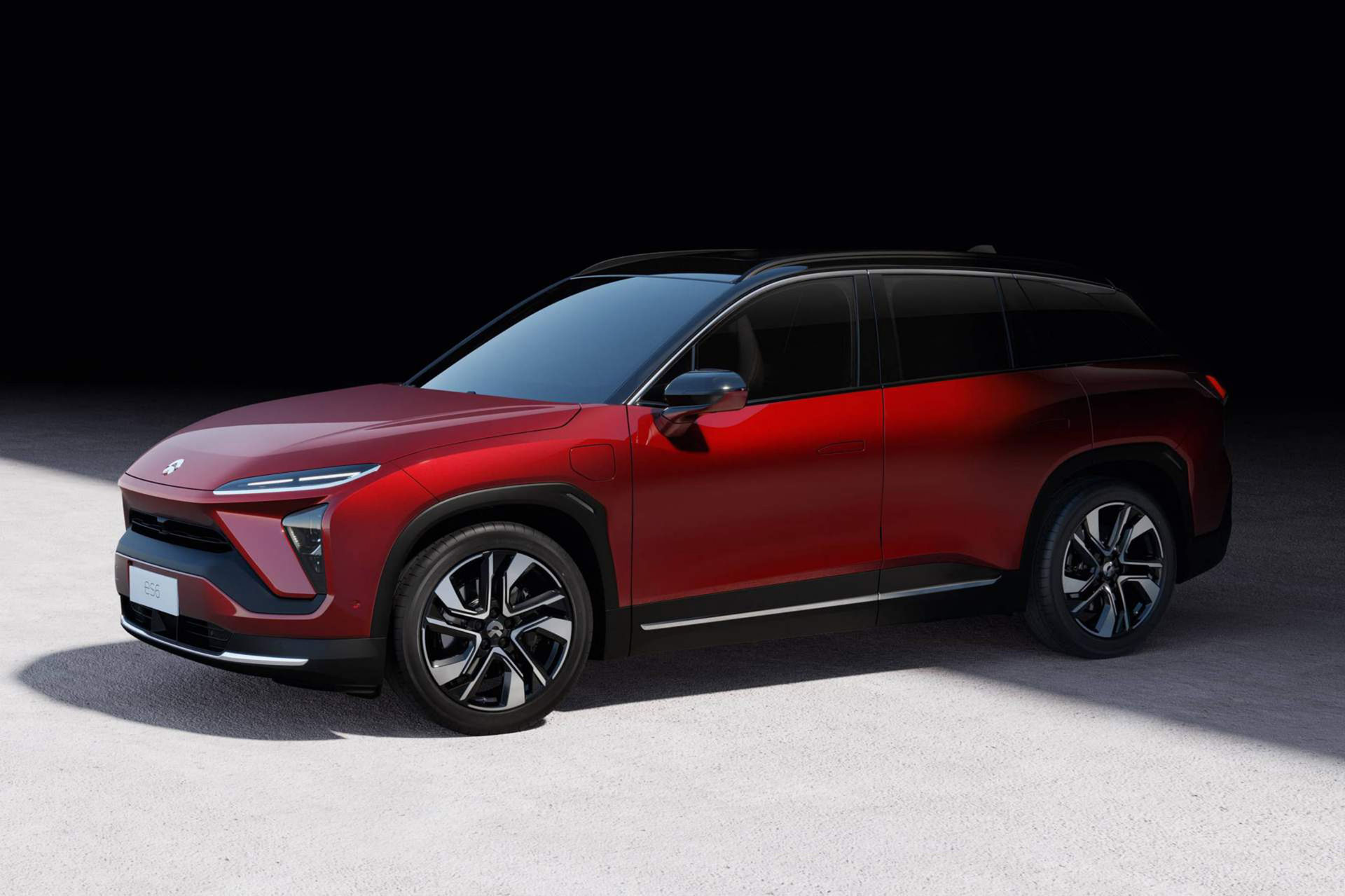 Nio presenterar ny eldriven SUV