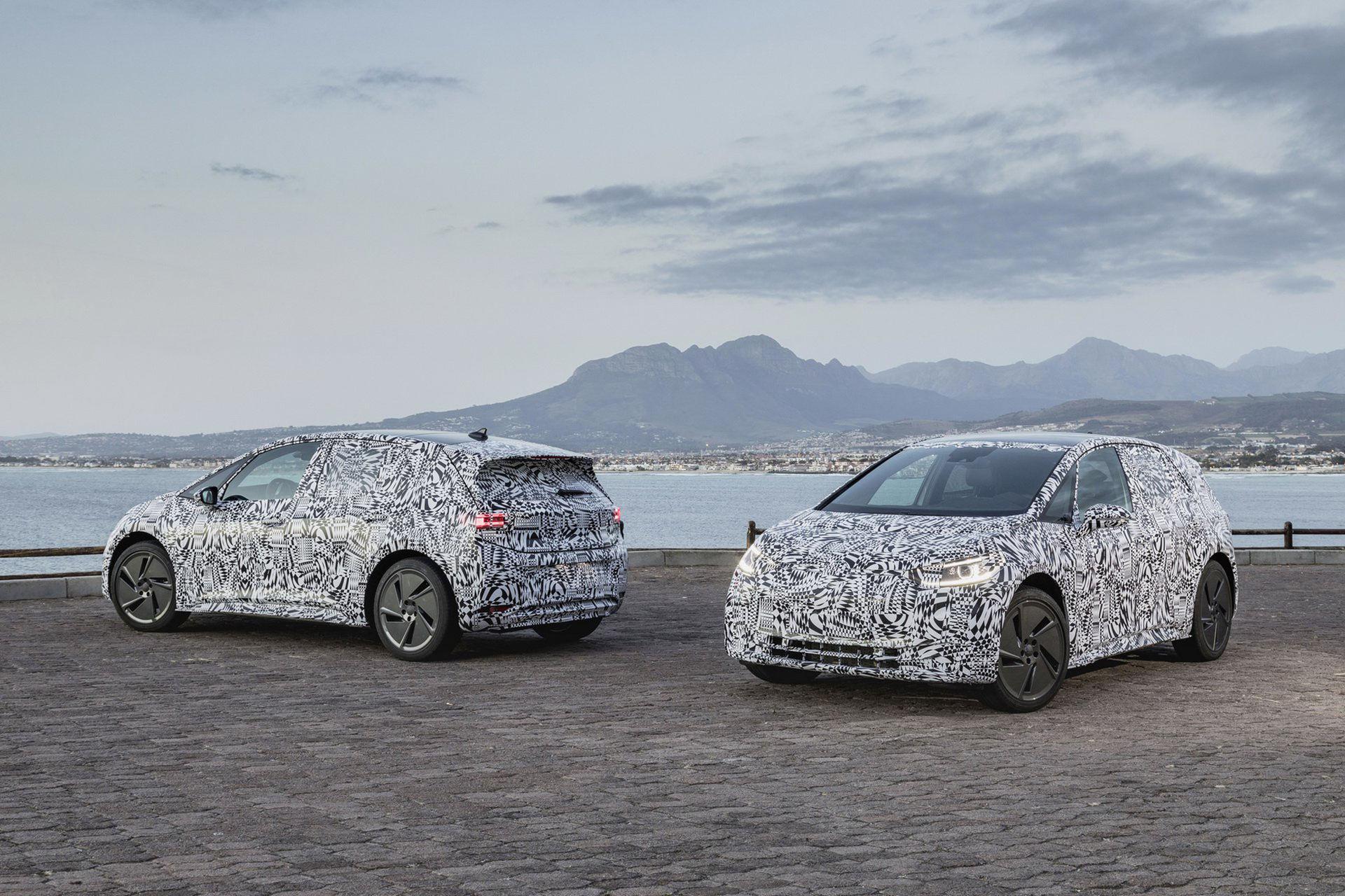 Volkswagen visar tester av elbilen ID