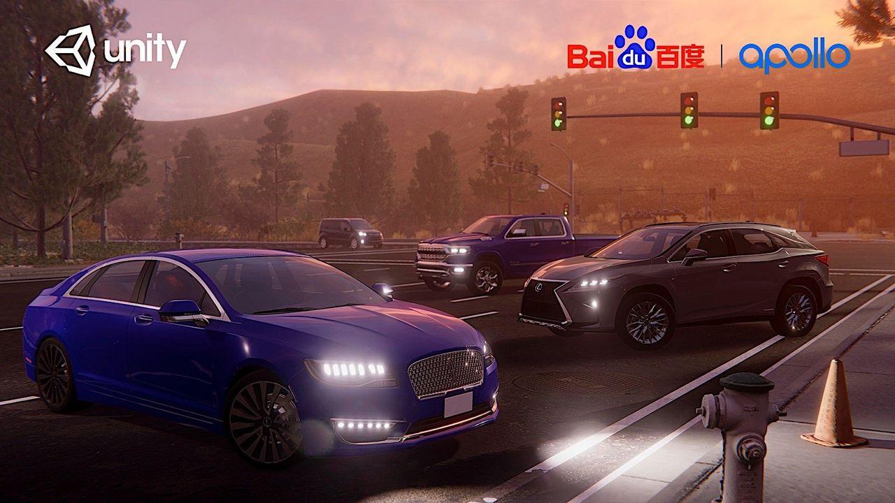 Baidu bygger simulator för självkörande bilar med Unity