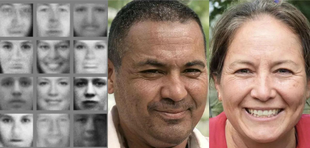 AI-skapade porträttbilder börjar se riktigt bra ut