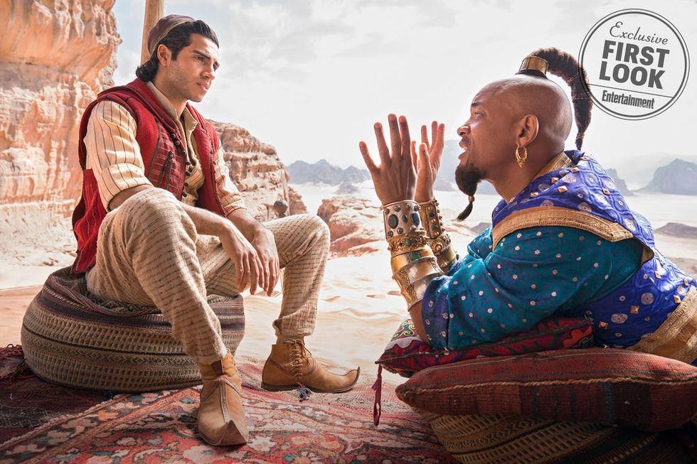 En första titt på Aladdin