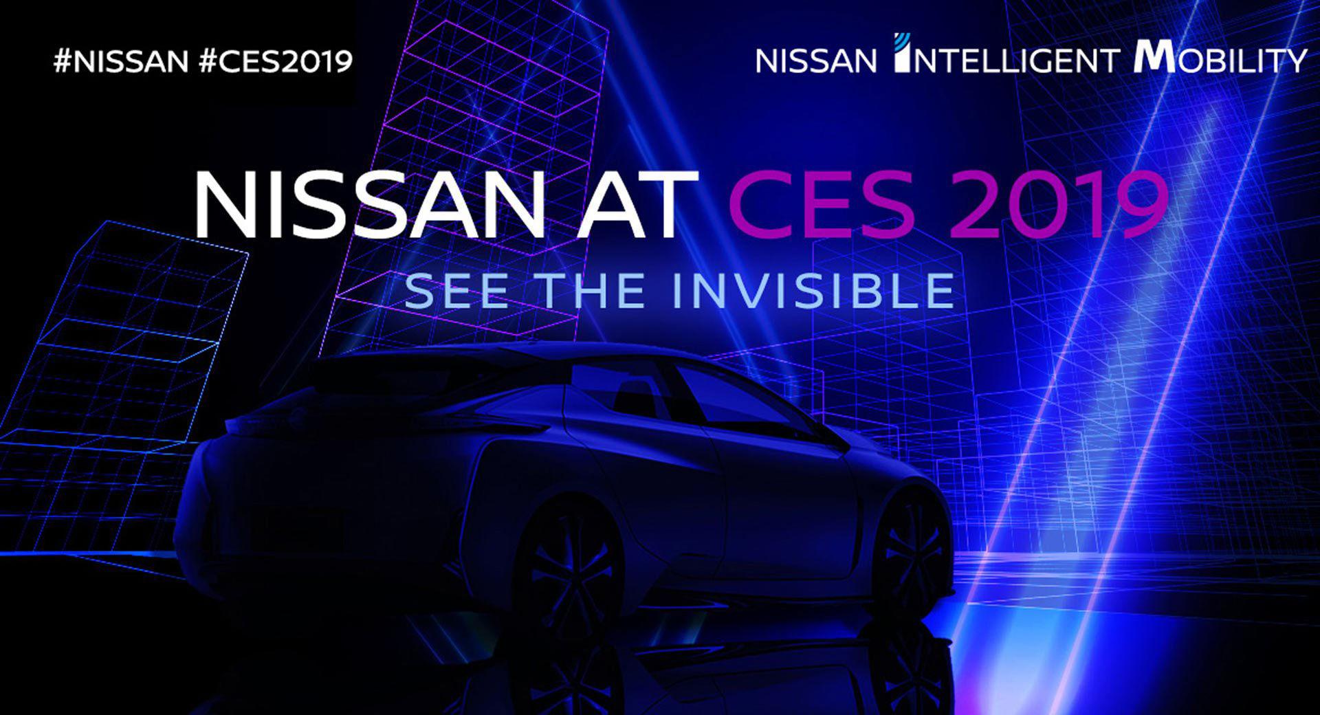 Nissan visar ny modell på CES