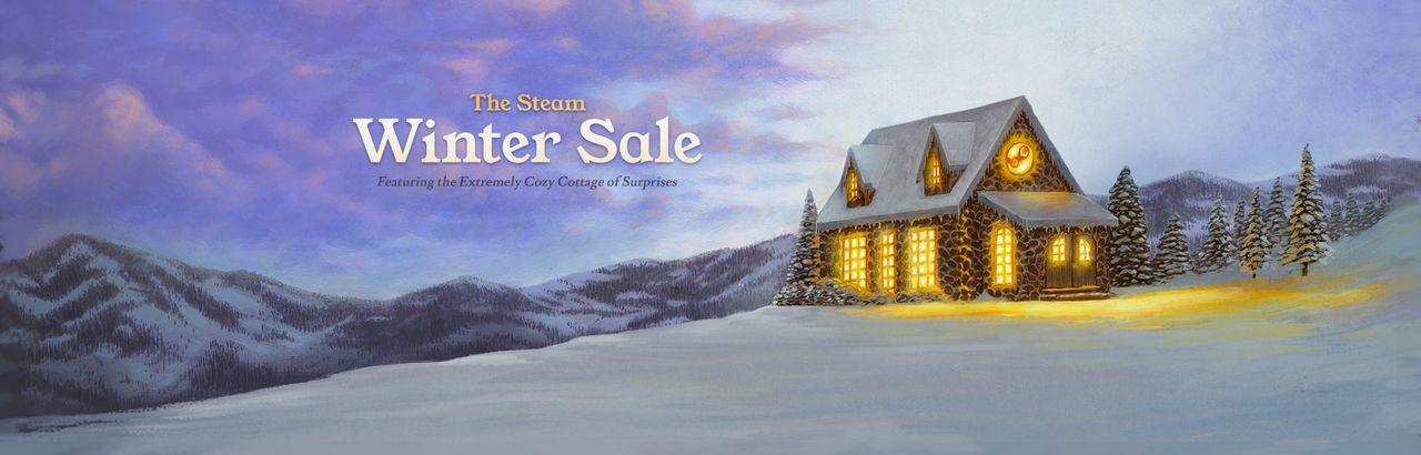 Valve drar igång vinterrea på Steam