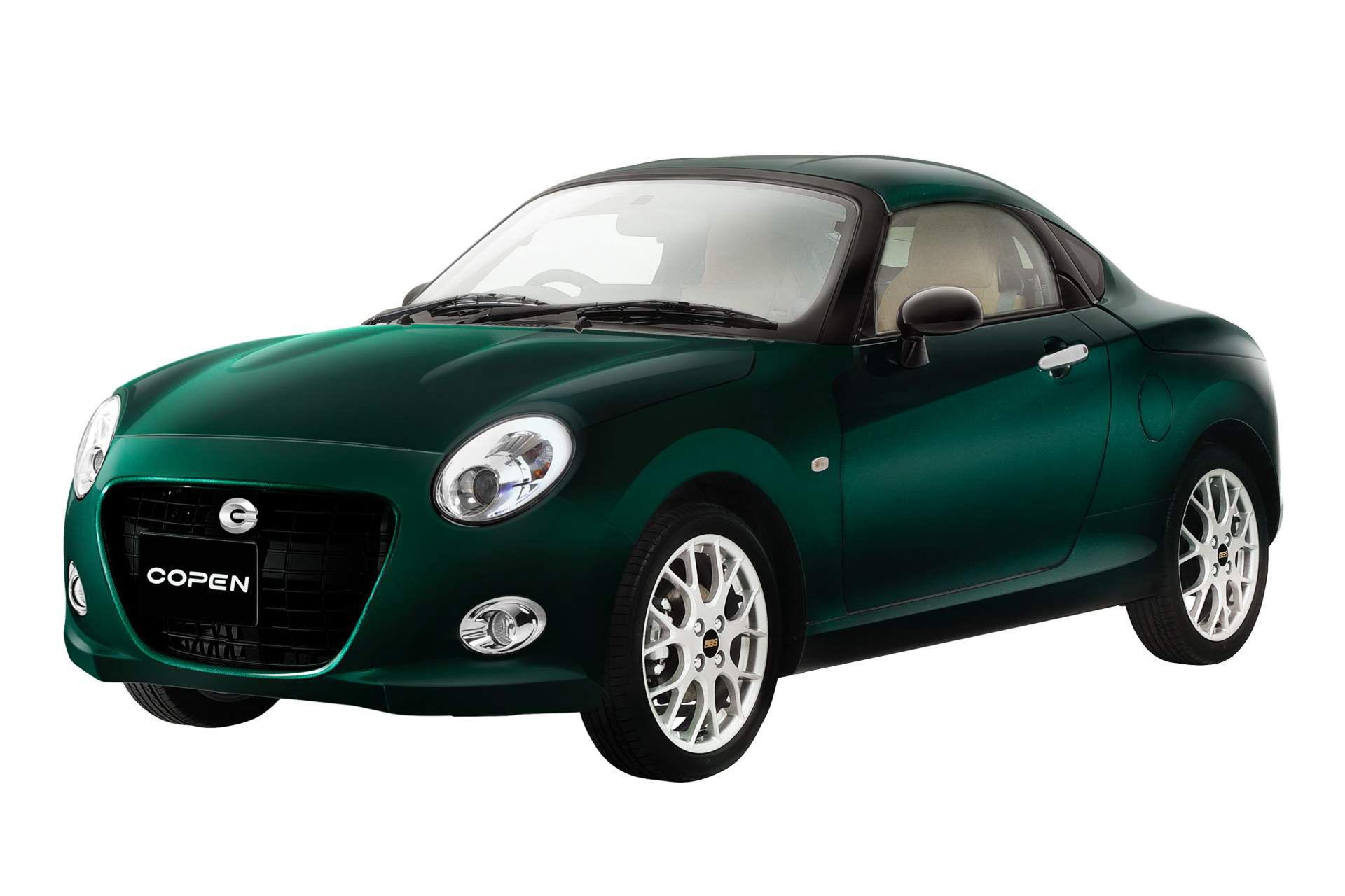 Daihatsu Copen nu äntligen som coupé