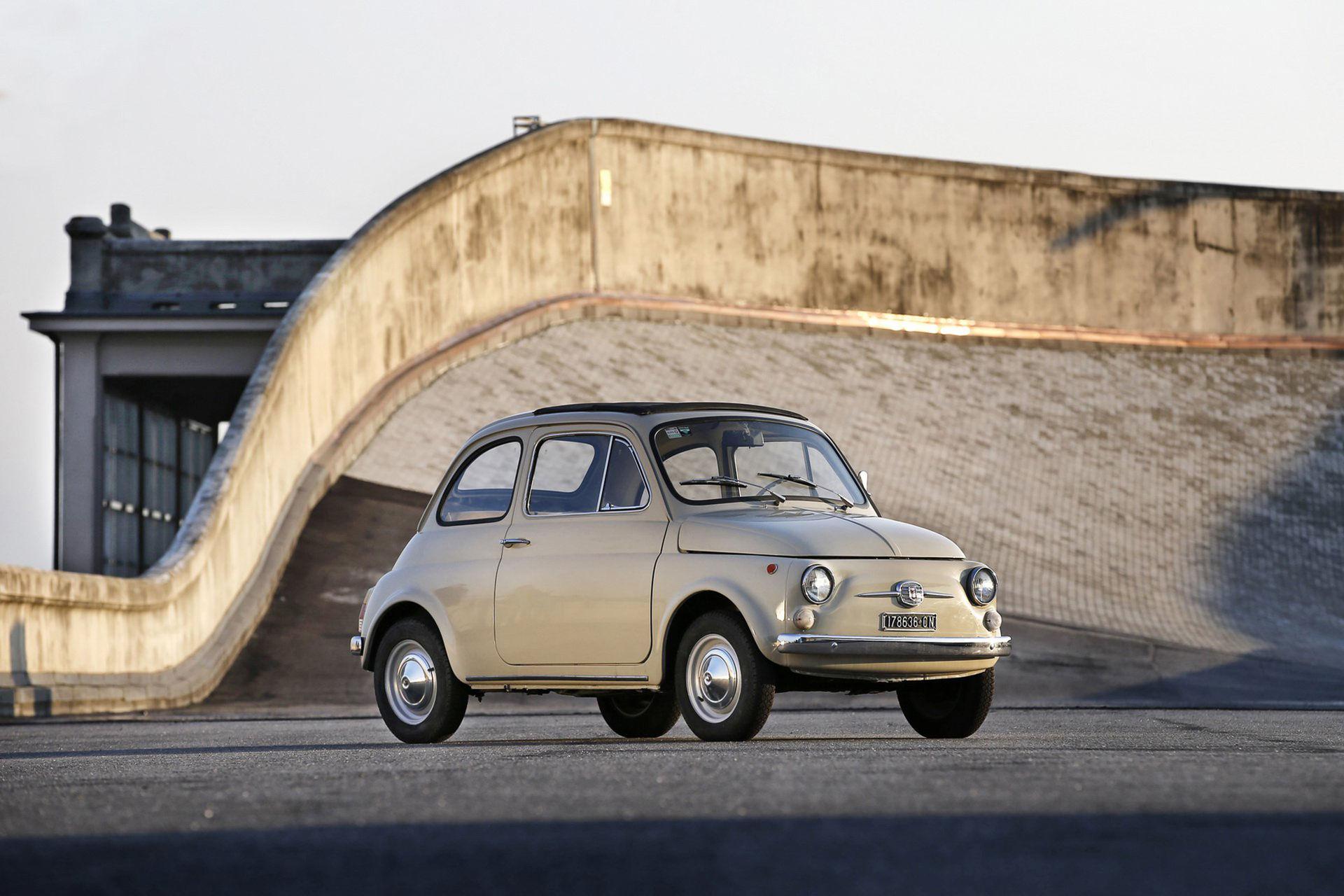 Klassisk Fiat 500 ställs ut på MoMA