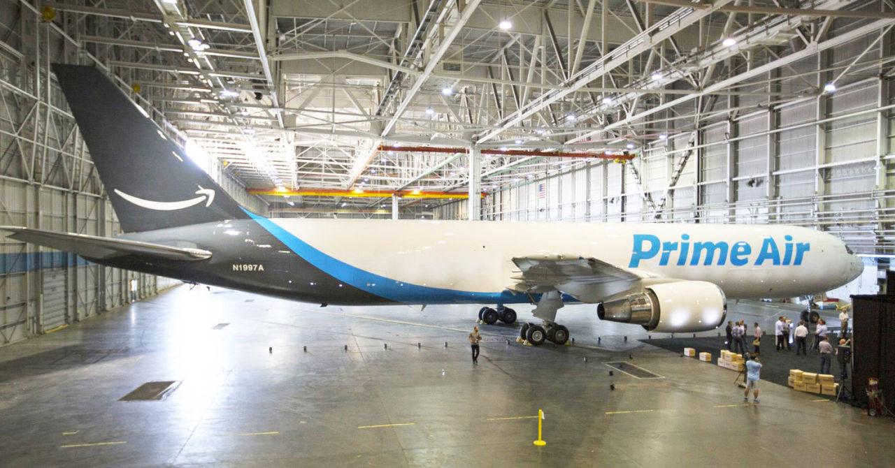 Amazon Air har nu 50 stycken fraktflygplan