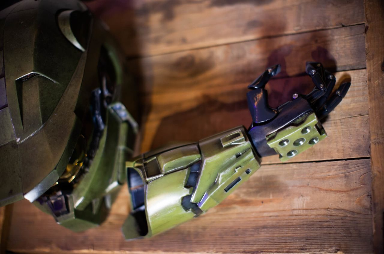 Microsoft gör Halo-inspirerade armproteser