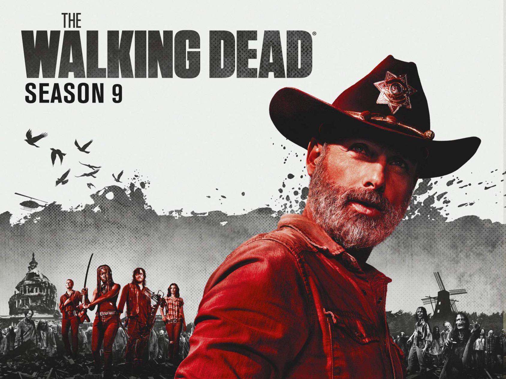 The Walking Dead mest nedladdade TV-serien 2018
