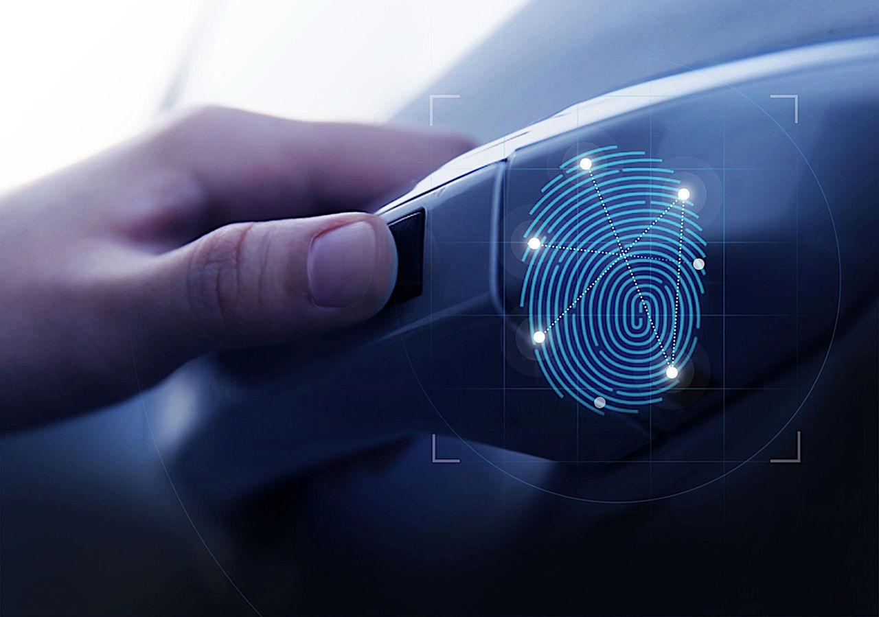 Nästa Hyundai Santa Fe får fingeravtrycksläsare