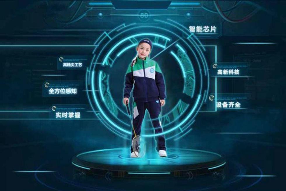 Kinesiska elever får smarta skoluniformer  f3845a4f5b95c