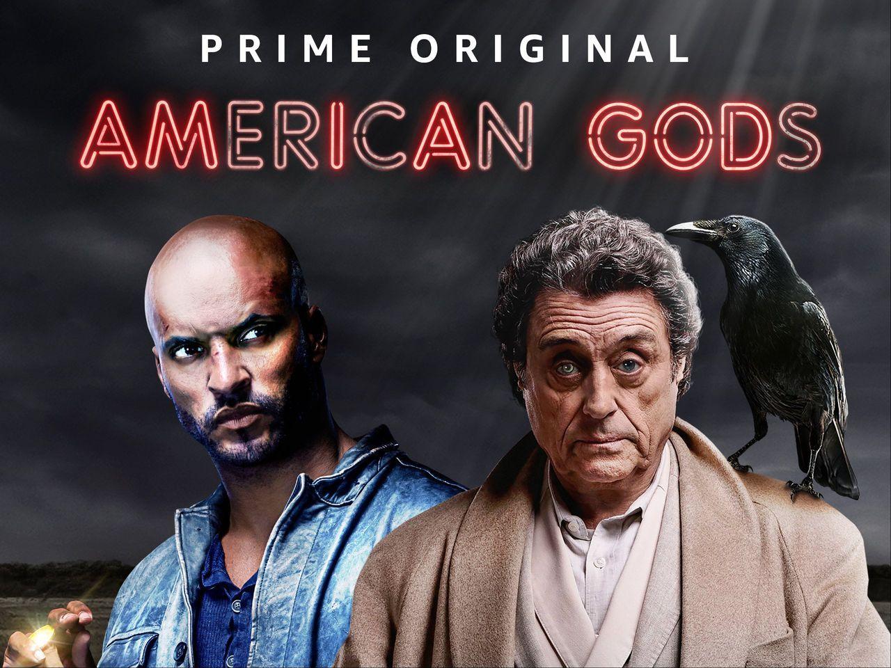 Se de första minuterna från andra säsongen av American Gods