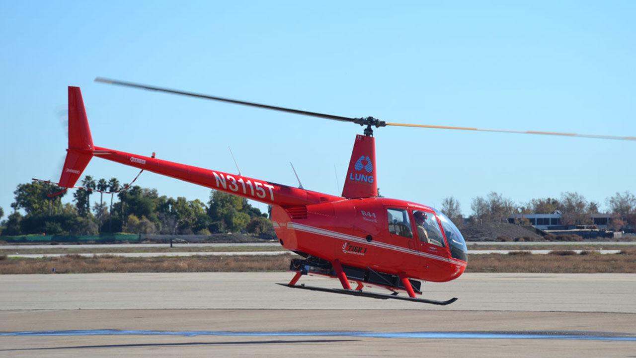 Nytt världsrekord med eldriven helikopter