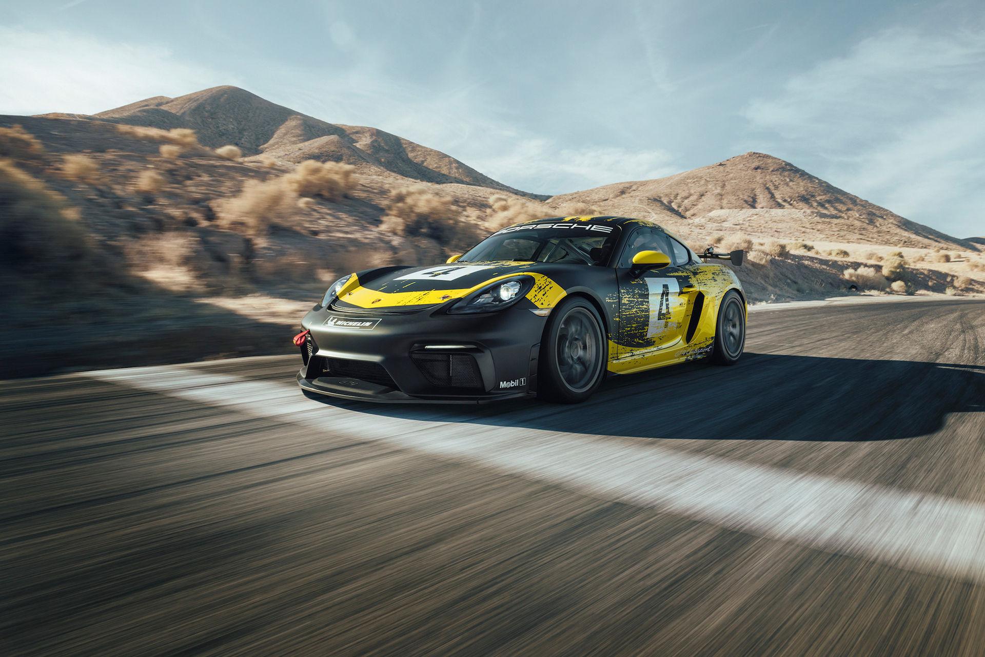 Porsche presenterar 718 Cayman GT4 Clubsport
