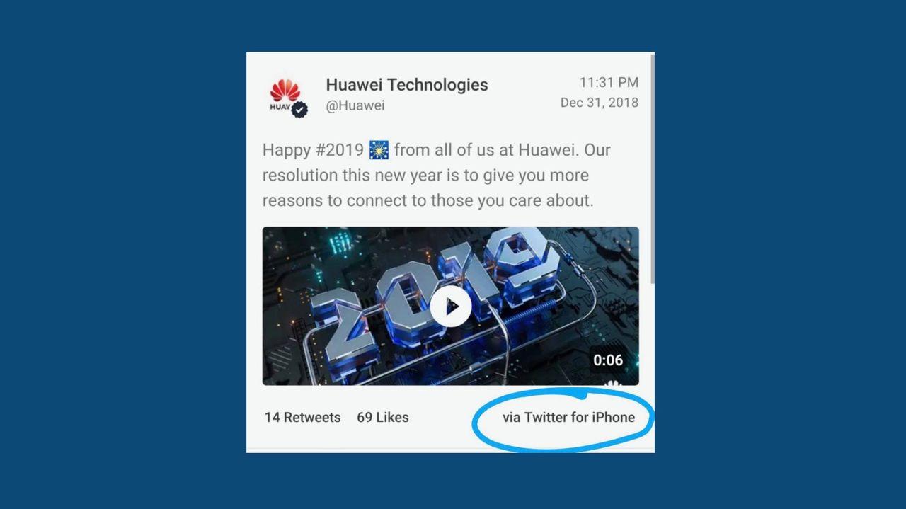 Huawei-anställda fick löneavdrag för att ha använt en iPhone
