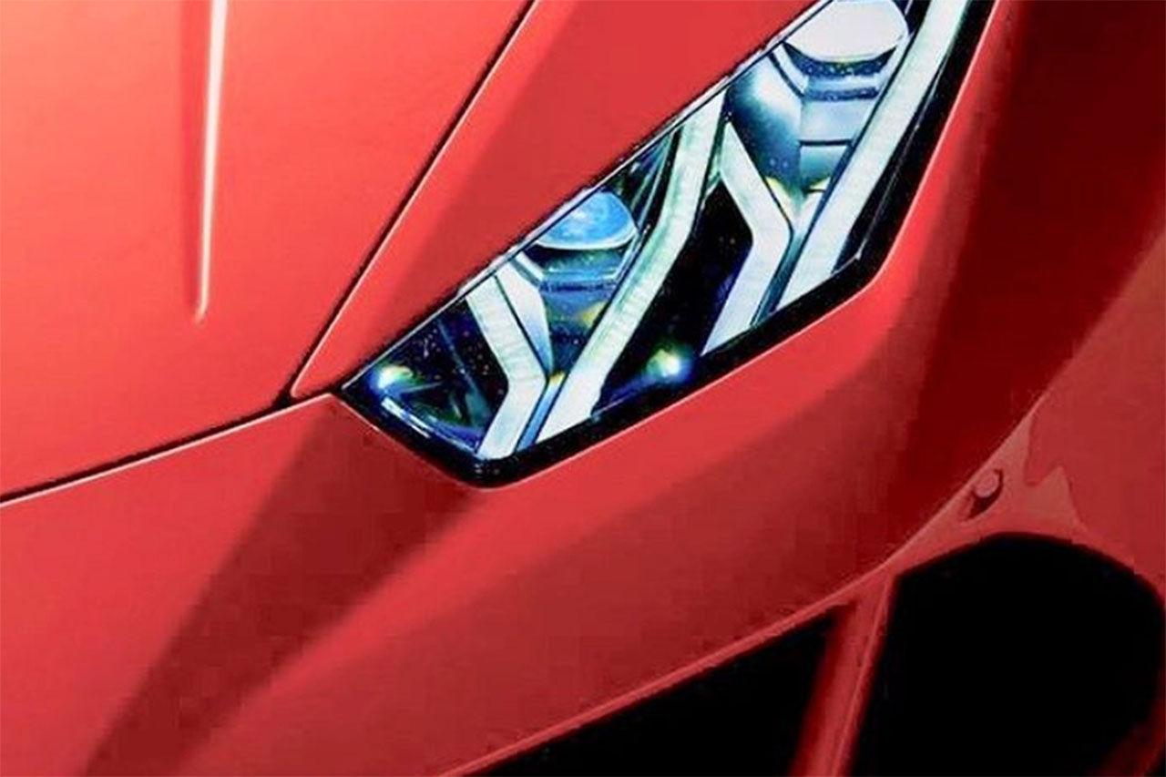 Uppdatering av Lamborghini Huracán är på gång