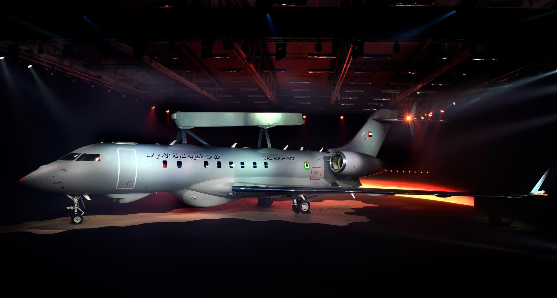 SAAB har testflugit sitt andra GlobalEye-flygplan
