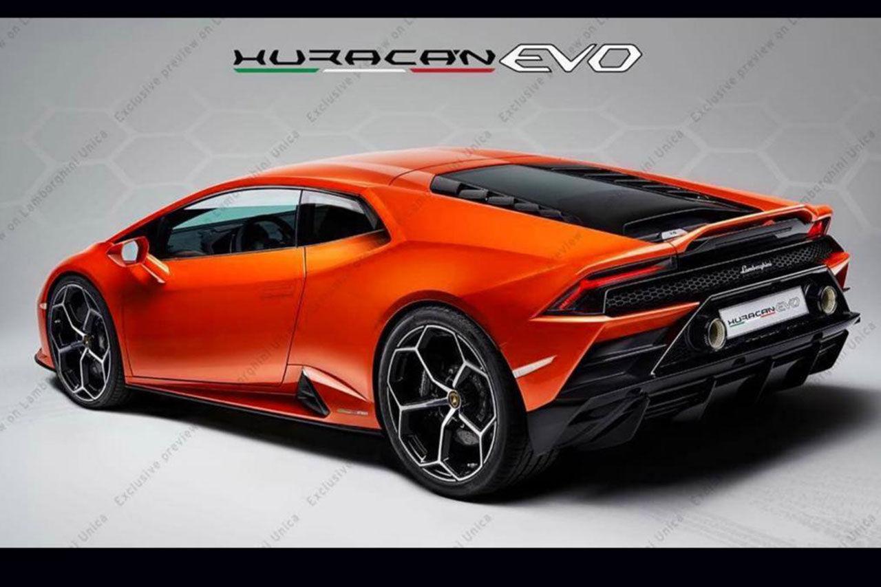 Det här är Lamborghini Huracán Evo