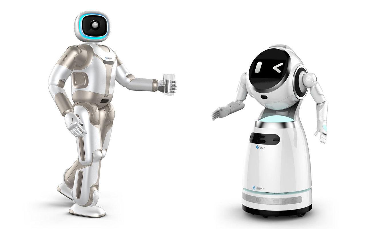 Ubtech visar upp två nya robotar