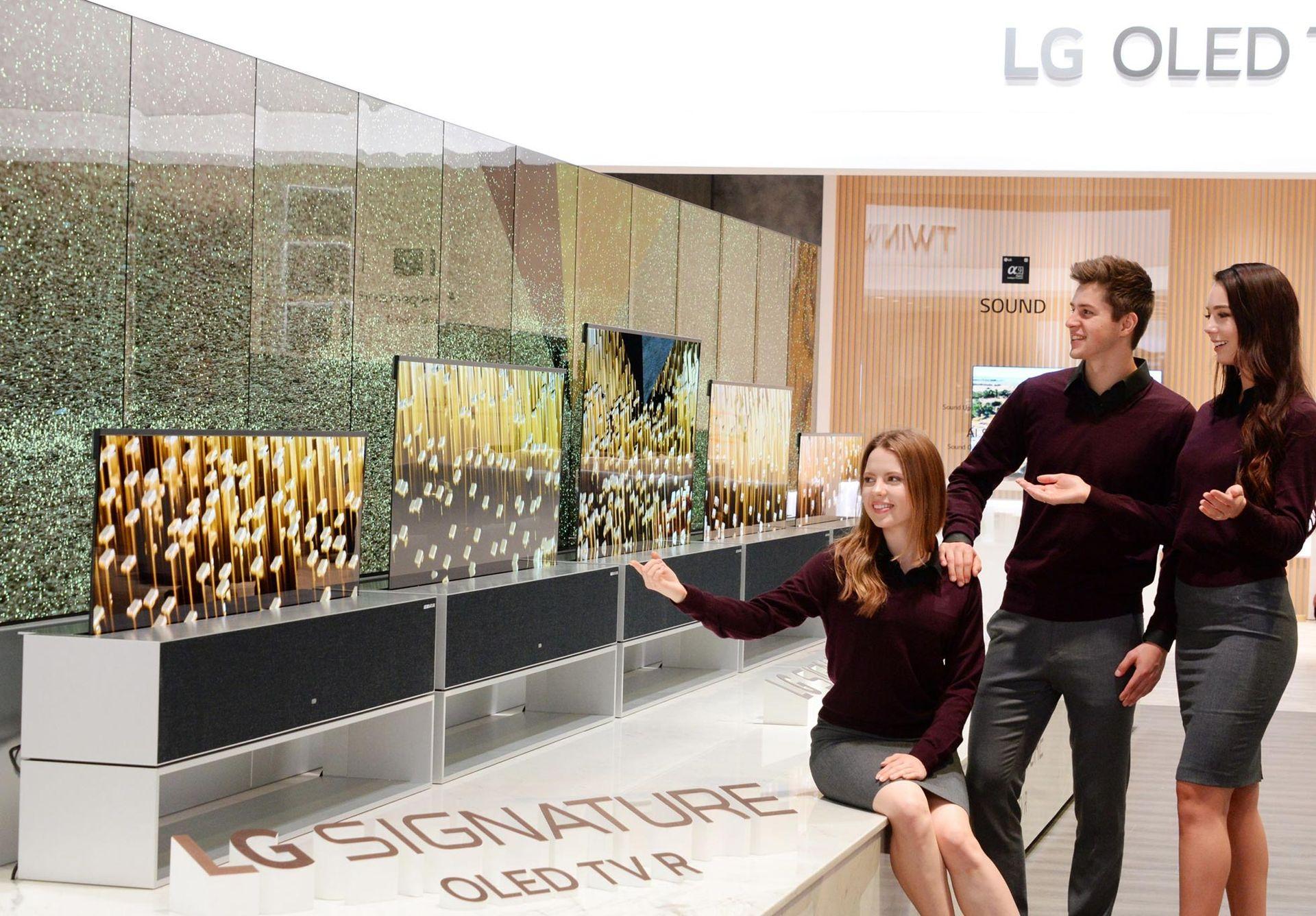 Nu är LGs rullbara TV verklighet