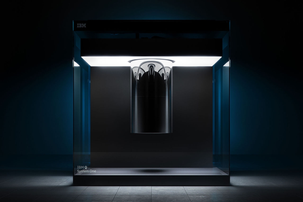 IBM visar upp kvantdatorn IBM Q System One