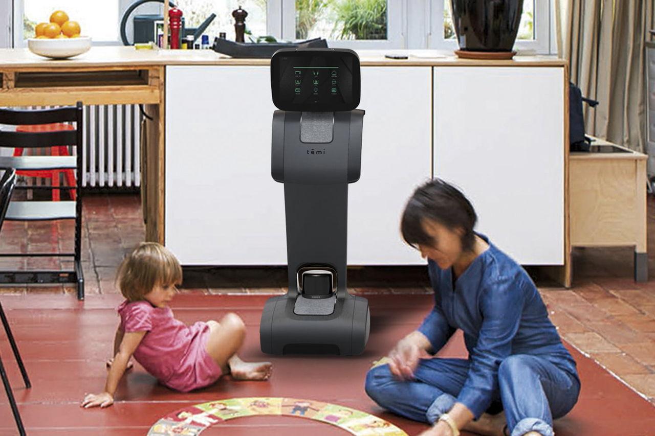 Roboten Temi är en smart assistent på hjul