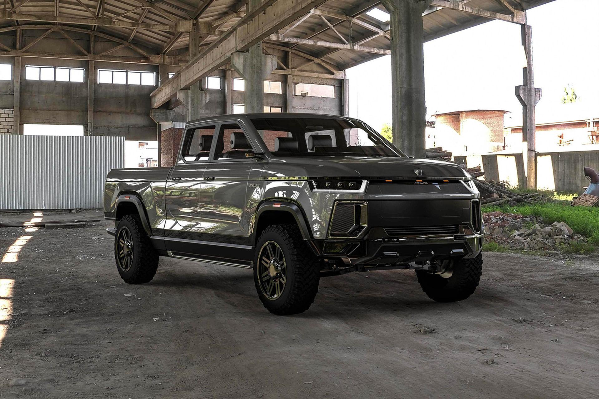 Atlis XT är ännu en eldriven pickup