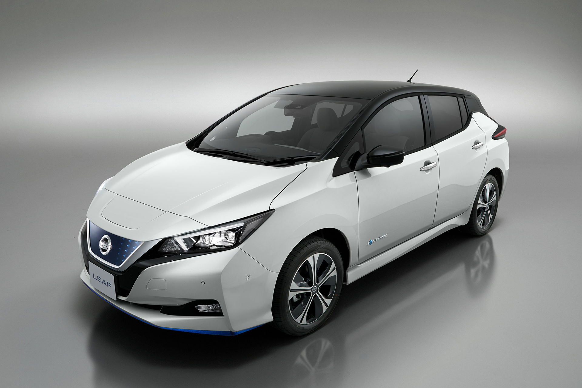 Nissan Leaf med längre räckvidd presenterad