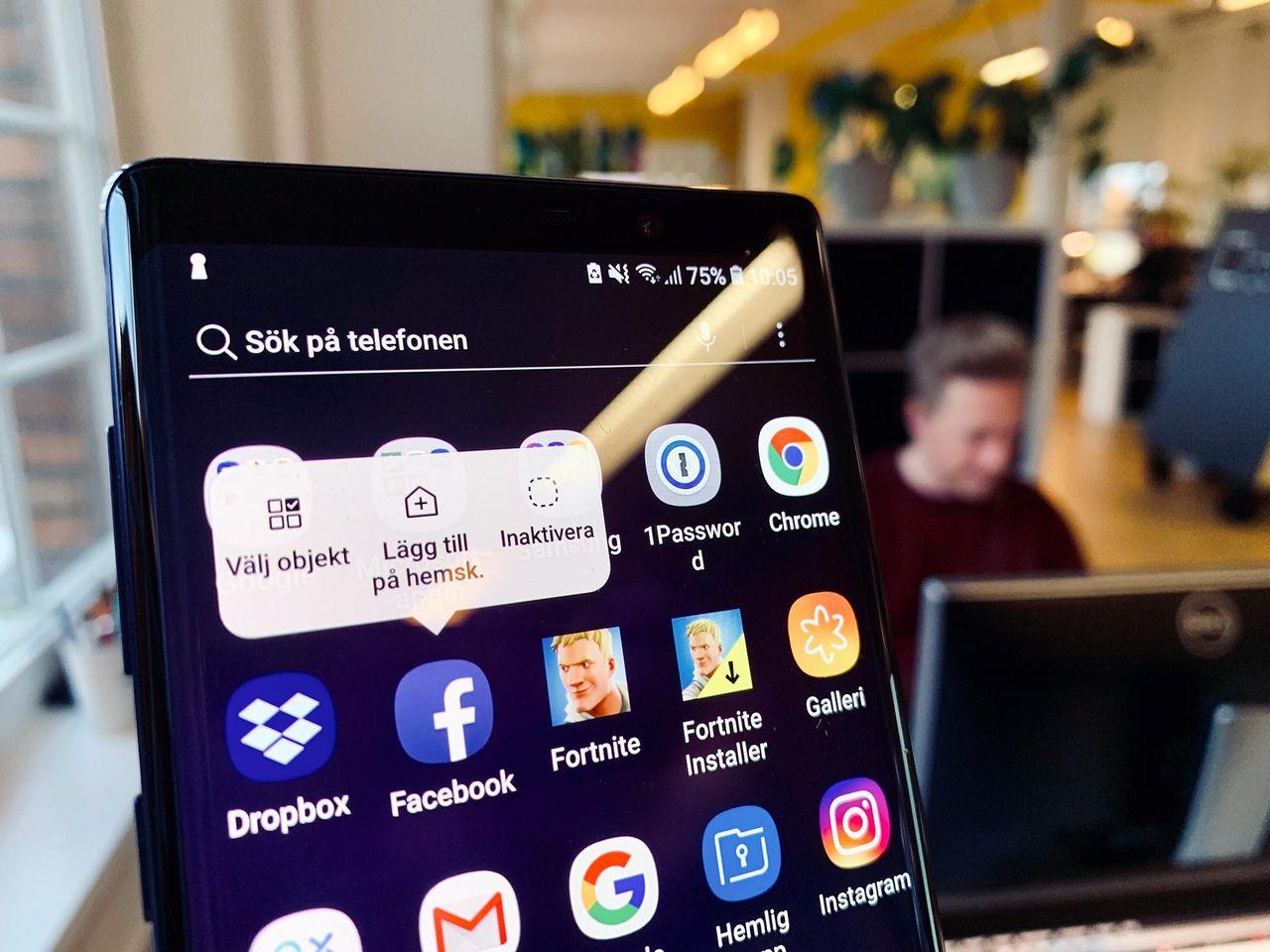 Samsung-användare kan inte ta bort Facebook