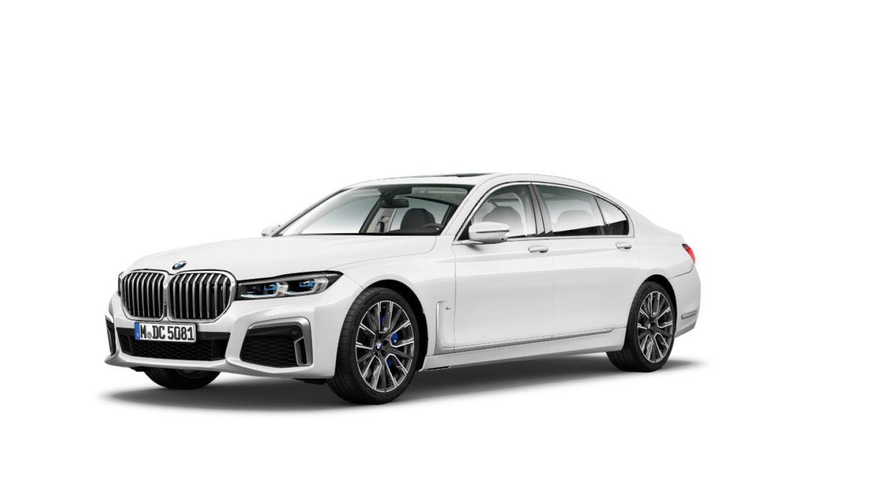 Hela nya BMW 7-serie läcker ut