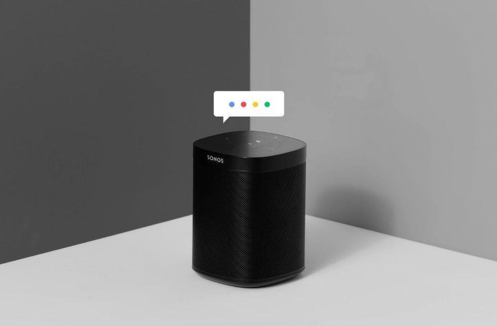 Sonos visar upp Google Assistant på sina högtalare